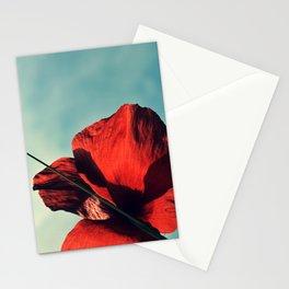 Czerwone Maki - seven Stationery Cards