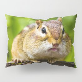 Caught With His Mouth Full Pillow Sham