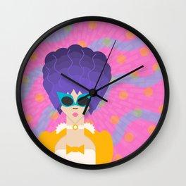 Modern Marie Antoinette Wall Clock