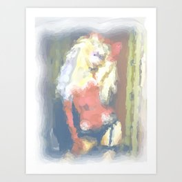 Christina Art Print