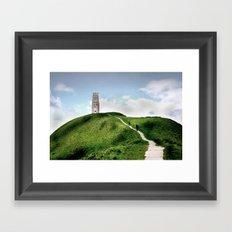 Glastonbury Tor Framed Art Print