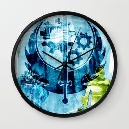 "Fallout ""The Brotherhood of Steel"" Wall Clock"
