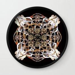 Merovingian Mandala Wall Clock
