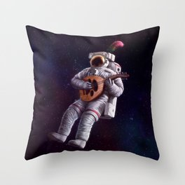 Rock Star Throw Pillow