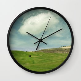 Rural beauty. Andalusia vintage Wall Clock