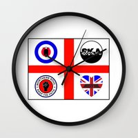 60s Wall Clocks featuring Brit music 60s 70s by MasterChef-FR