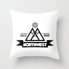 NW Throw Pillow