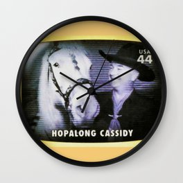 Hopalong Cassidy Wall Clock
