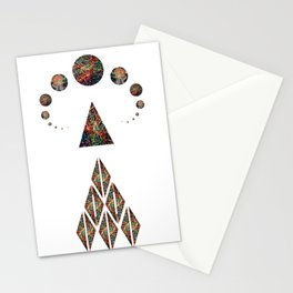 abstract order Stationery Cards