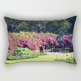Step Into Spring Rectangular Pillow
