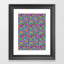 Streamers Framed Art Print