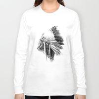 sarah paulson Long Sleeve T-shirts featuring Sarah by Mark Mijares