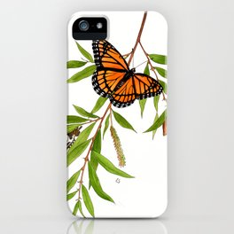 Viceroy and Willow iPhone Case
