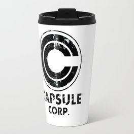 Capsule Corp Vintage black Travel Mug