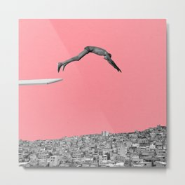 jumping back to Favela.  Metal Print