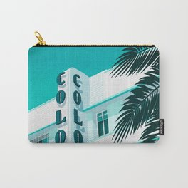 Colony Hotel Miami Beach Carry-All Pouch