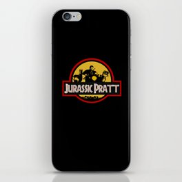 Jurassic Pratt iPhone Skin