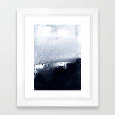 into the deep 2 Framed Art Print