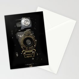 VINTAGE AUTOGRAPHIC BROWNIE FOLDING CAMERA Stationery Cards
