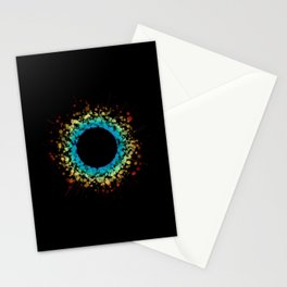 Rainbow Bubble Sun Stationery Cards