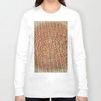 tree rings Long Sleeve T-shirts featuring Oak Rings by Michael S.