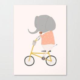 Margaux Rides Canvas Print
