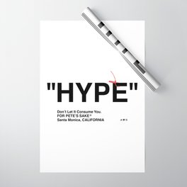 """""""HYPE"""" Wrapping Paper"""