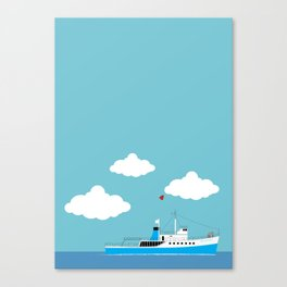 The Life Aquatic with Steve Zissou: The Belafonte Canvas Print