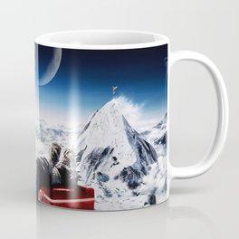 Funny Alpinist with beer Coffee Mug