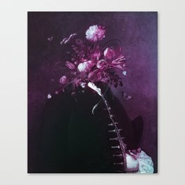 flower facade pink version Canvas Print