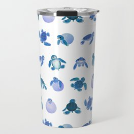 Baby sea turtles Travel Mug