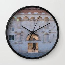 Split Diocletian Palace Travel Croatia Photo Wall Clock