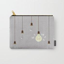 Light Bulbs Carry-All Pouch
