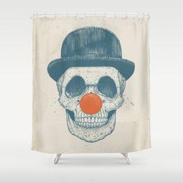Dead clown Shower Curtain