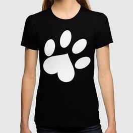 Paw love T-shirt