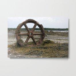 Decay Metal Print