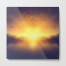welcome to the dream gate. ayahuasca trip Metal Print