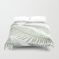 fern Duvet Covers featuring fern  by Bonnie Durham