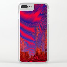 Weston Missouri Walking Trail on Metal Clear iPhone Case