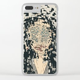 Fragmented Clear iPhone Case