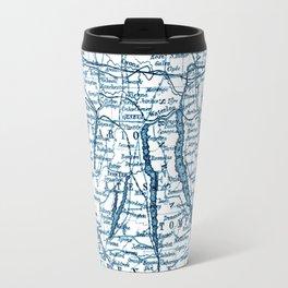 Vintage Finger Lakes Travel Mug
