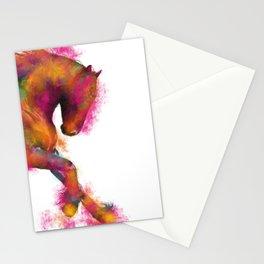 FRieSiaN HoRSe PRiNT, ANiMaL PRiNT 'CooL MaJeSTiK' HoRSe ART Stationery Cards