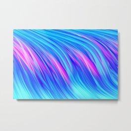 Waterfall,  abstract Metal Print