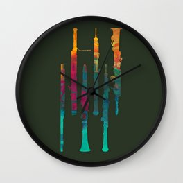 Sound of Angels Wall Clock