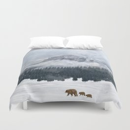 nature will find a way Duvet Cover