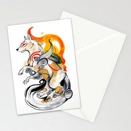 OKAMI AMATERASU I Stationery Cards
