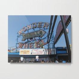 Wonder Thrills Metal Print
