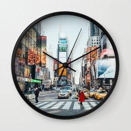 New York Bustle Wall Clock
