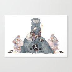 The Spirit Bear Canvas Print