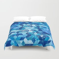 Cold Snowflake Duvet Cover